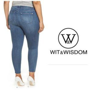 Wit & Wisdom Ab solution Skinny Jeans Plus Sz 20W
